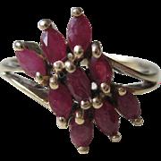 Natural Ruby /10k Gold Ring