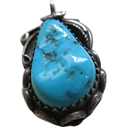 Turquoise /Silver 925 Handmade Pendent