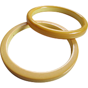 1950s Bakelite Bangle/Spacer Bracelets
