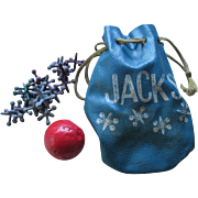 1950s Ball and Jack Pouch