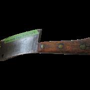 Vintage Blacksmith Meat Cleaver