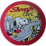 1965 SnoopyCafe Serving Tray