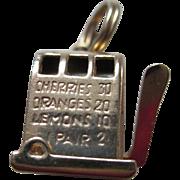 14 kt YG- Slot Machine Charm