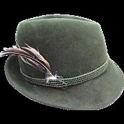 Vintage Anton Pichler (Gratz) Fedora Hat