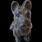 Trading Post/ N. M. Bronze Scottie Dog
