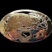 """Wild Bryde""  Beaver Pin"