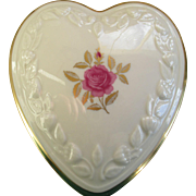Lenox Heart Shaped Jewelry/Trinket Box