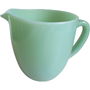 1940s Fire King Jadeite 20 oz Milk Pitcher