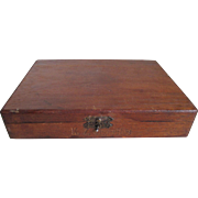 1940s K-. Cigaritos Cigar Wood Box
