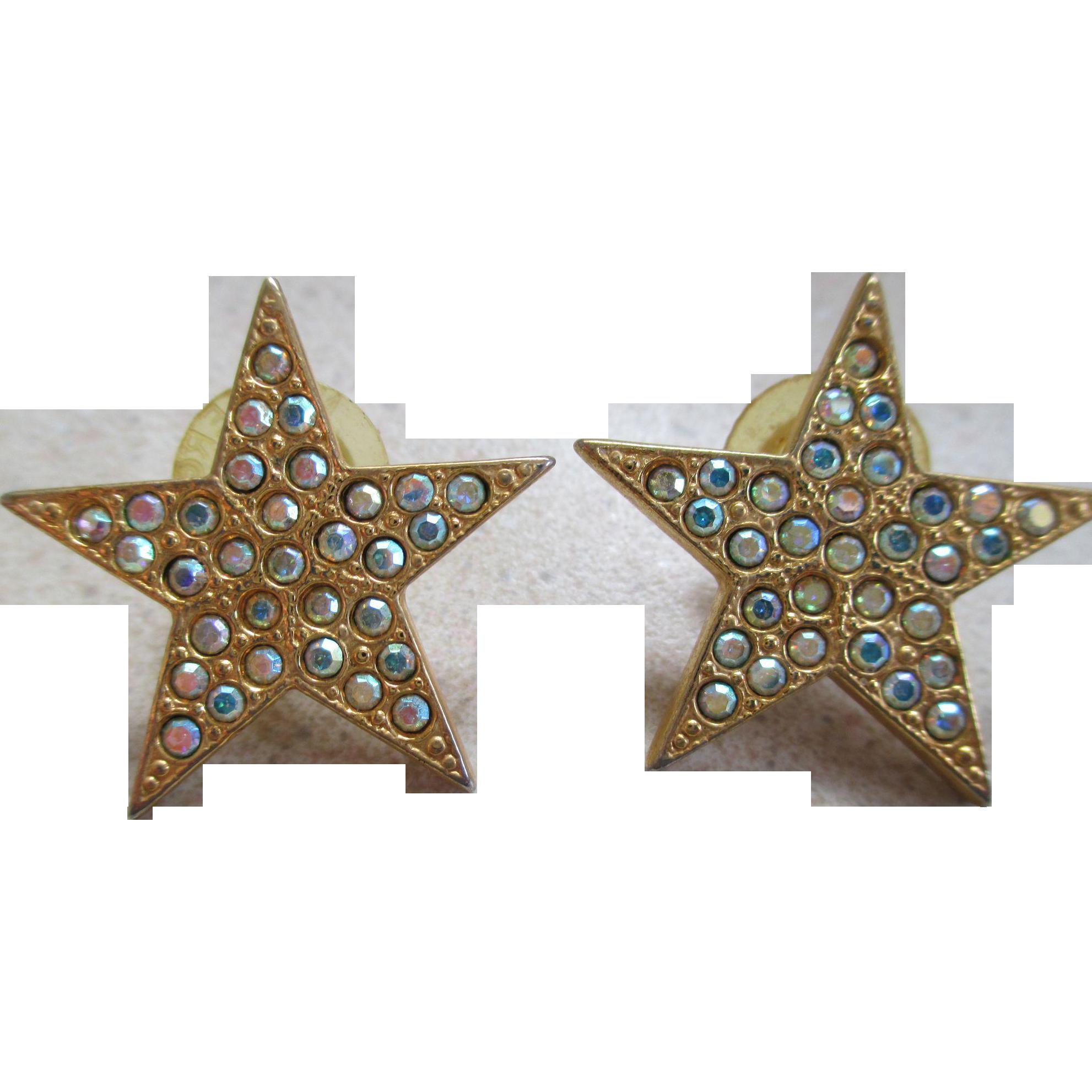 kirks folly rhinestone post earrings from