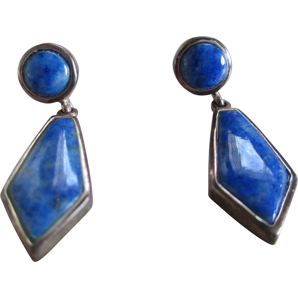 ot 925 silver carolyn pollack blue lapis post earrings from silvermoonjewelryandmore on ruby