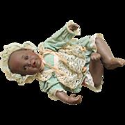 Collectible (Danielle) Black Bisque Doll -Yolanda Bello