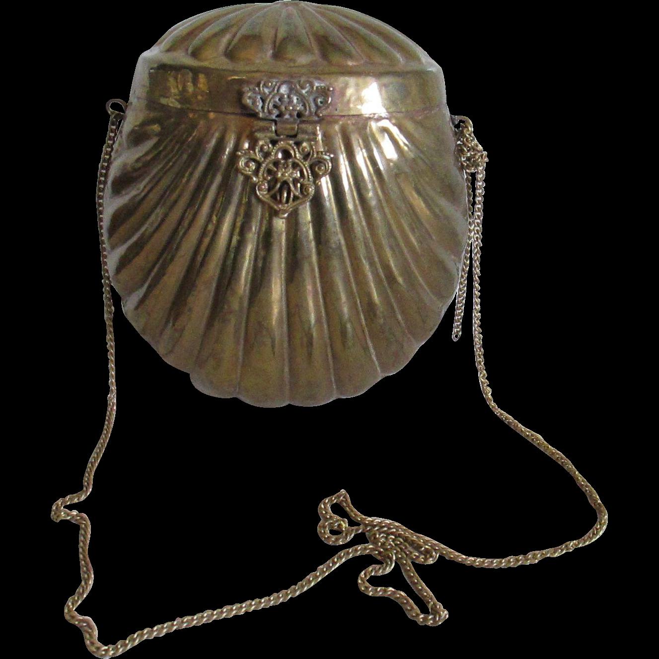 Vintage Brass Purse 117