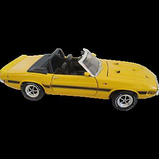 ERTL 1969 Shelby GT-500 Convertible Die Cast Car