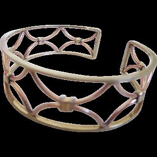 1960s Krementz Cuff Bracelet