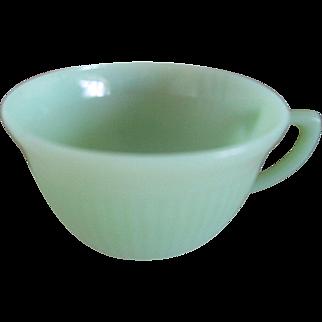 Vintage Fireking Jadite Coffee Cup