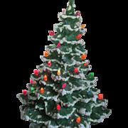 1960s /70s Ceramic Christmas tree