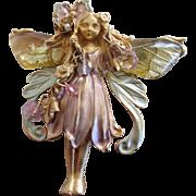 Kirks Folly Primrose Fairy Pendent or Brooch