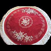 Oriental Vintage 100% Wool/Inlay Woven Rug