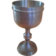 Weber-ZINN Germany Pewter Goblet More Available
