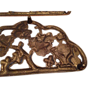 Virginia Metalcrafters Brass Pair Of Grapevine Trivets 3808 Harvin