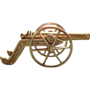 Virginia Metalcrafters Brass Canon