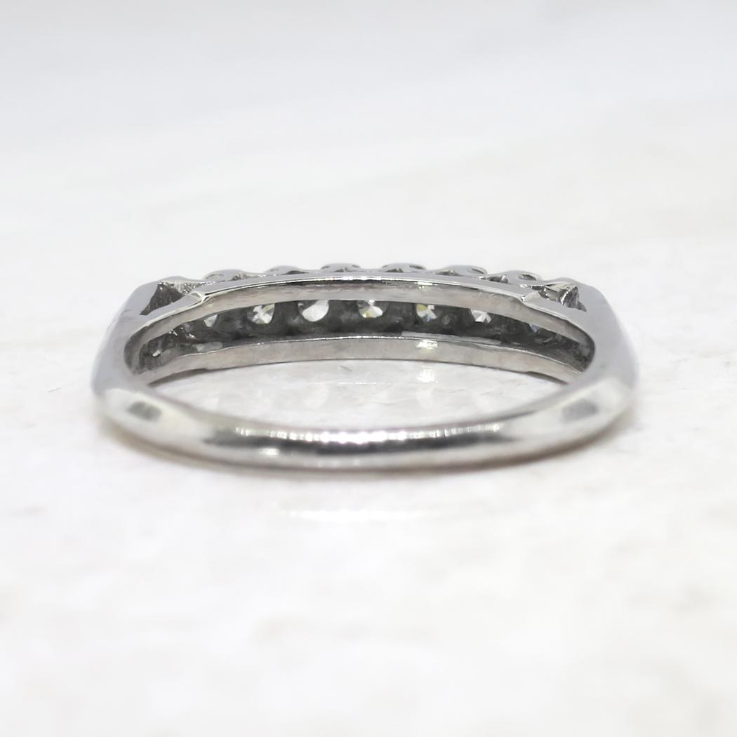 Vintage wedding rings platinum - Roll Over Large Image To Magnify Click Large Image To Zoom