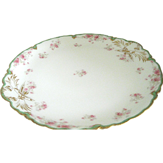 Antique Havilland Limoges Round Platter