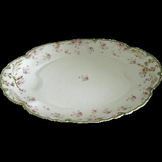 Antique Havilland Limoges Oval Platter