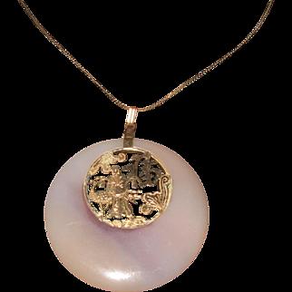 Agate Oriental Pendant