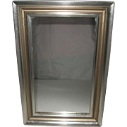 Framed Silver-Gilt Mirror