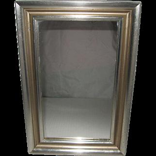Framed Silver-Gilt Mirror