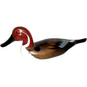 Hand-Painted Duck Decoy