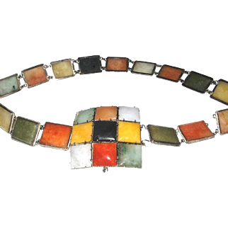 Custom made Jadeite Belt