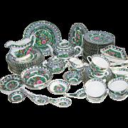 Rose Medallion Buffet/Tea Set, 63 pc.