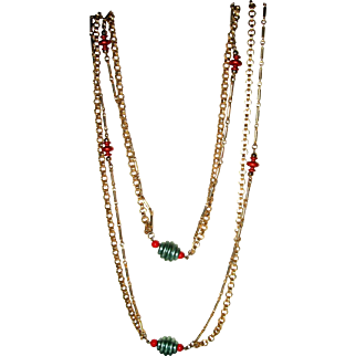 Costume Gold Chain Necklace