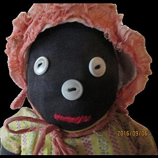 Vintage Black Mammy Bottle Doll
