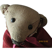 "ON RESERVE Antique Teddy 9"" Tall fully jointed"
