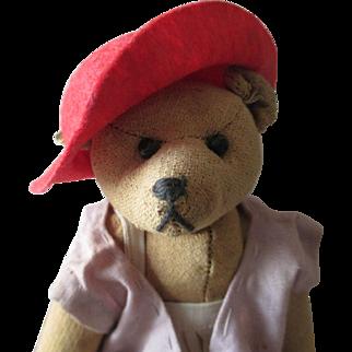 """Steiff 7 """" Teddy Bear no mohair"""