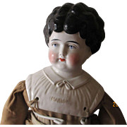 "Antique China Head Doll 24"" Tall"