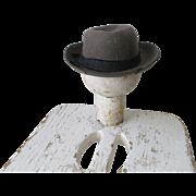 Vintage boy/teddy bear hat awesome!