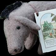 Vintage 1995 R. John Wright Winnie the Pooh Pocket Eeyore w/ Box