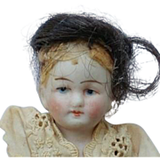 Sweet German All Bisque Doll