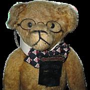 """Teddy Bear 21"""" Gold Mohair"""