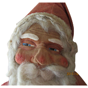 "Santa 23"" with Mask Face vintage"