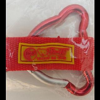 Fun Vintage Steiff Metal Key Ring Key Chain
