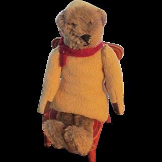 Father Christmas Wool and Mohair Teddy Bear