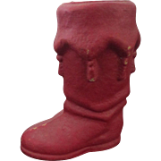 """Christmas 7 1/2"""" Red Pulp Boot"""