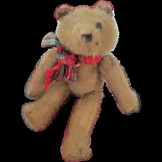 Mohair Mascot Teddy Bear with hanger