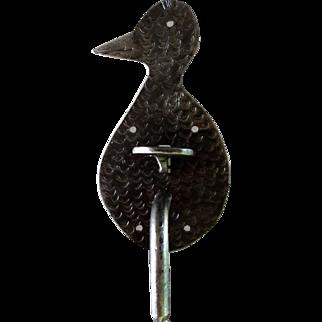 XVIIIth century complete zoomorphic hand hammered door hardware set